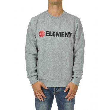 Felpa uomo girocollo GREY HEATHER