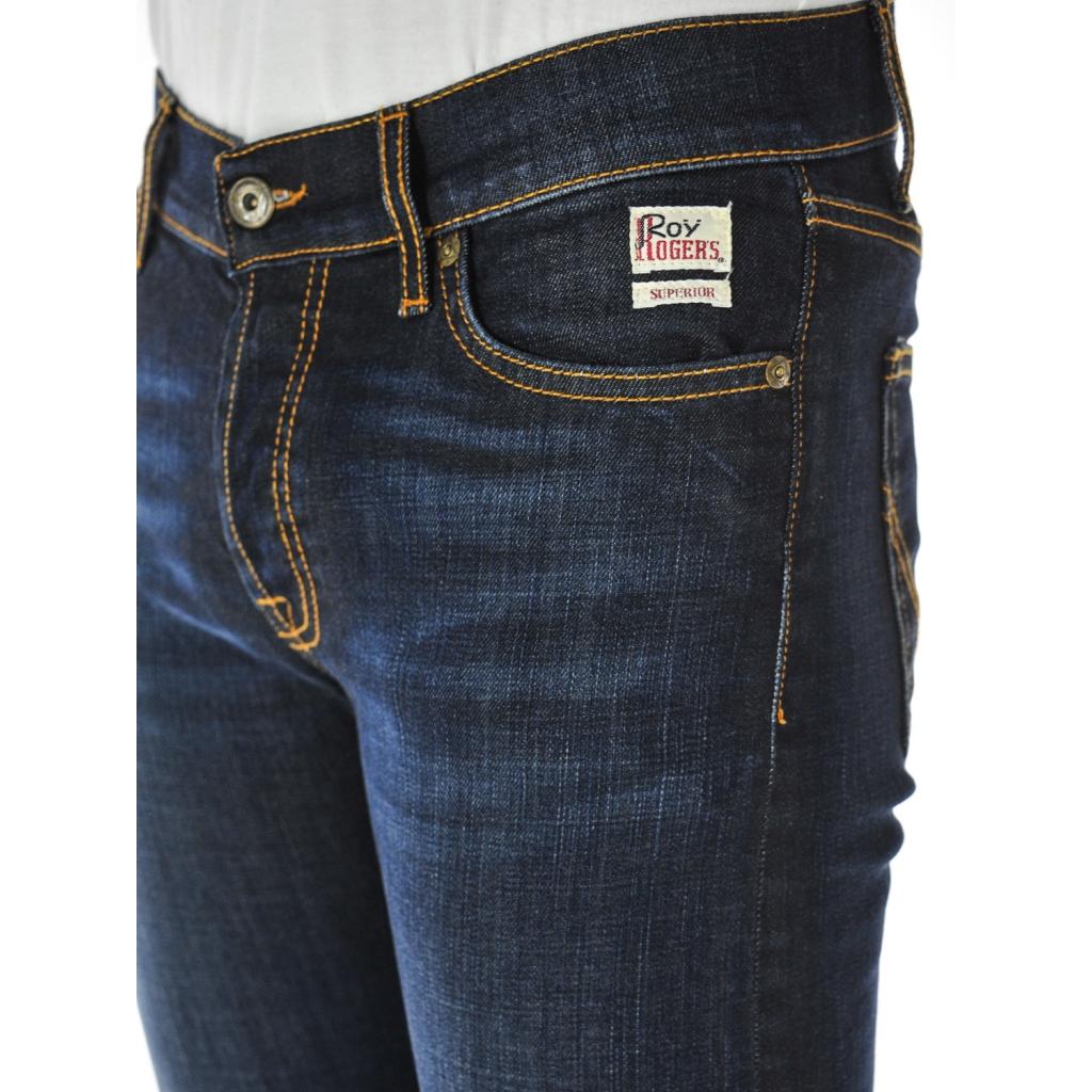 Pf18 Jeans Denim Roy Uomo Rogers Slim Fit qOTzt