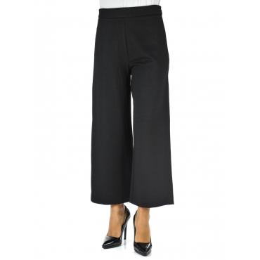 Pantalone palazzo 7/8 BLACK