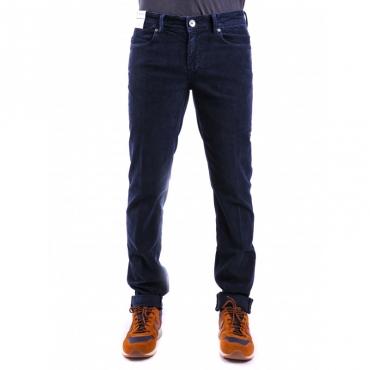 Pantalone velluto coste miller BLU