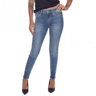 Jeans fabulous borchie tasca DENIM BLUE