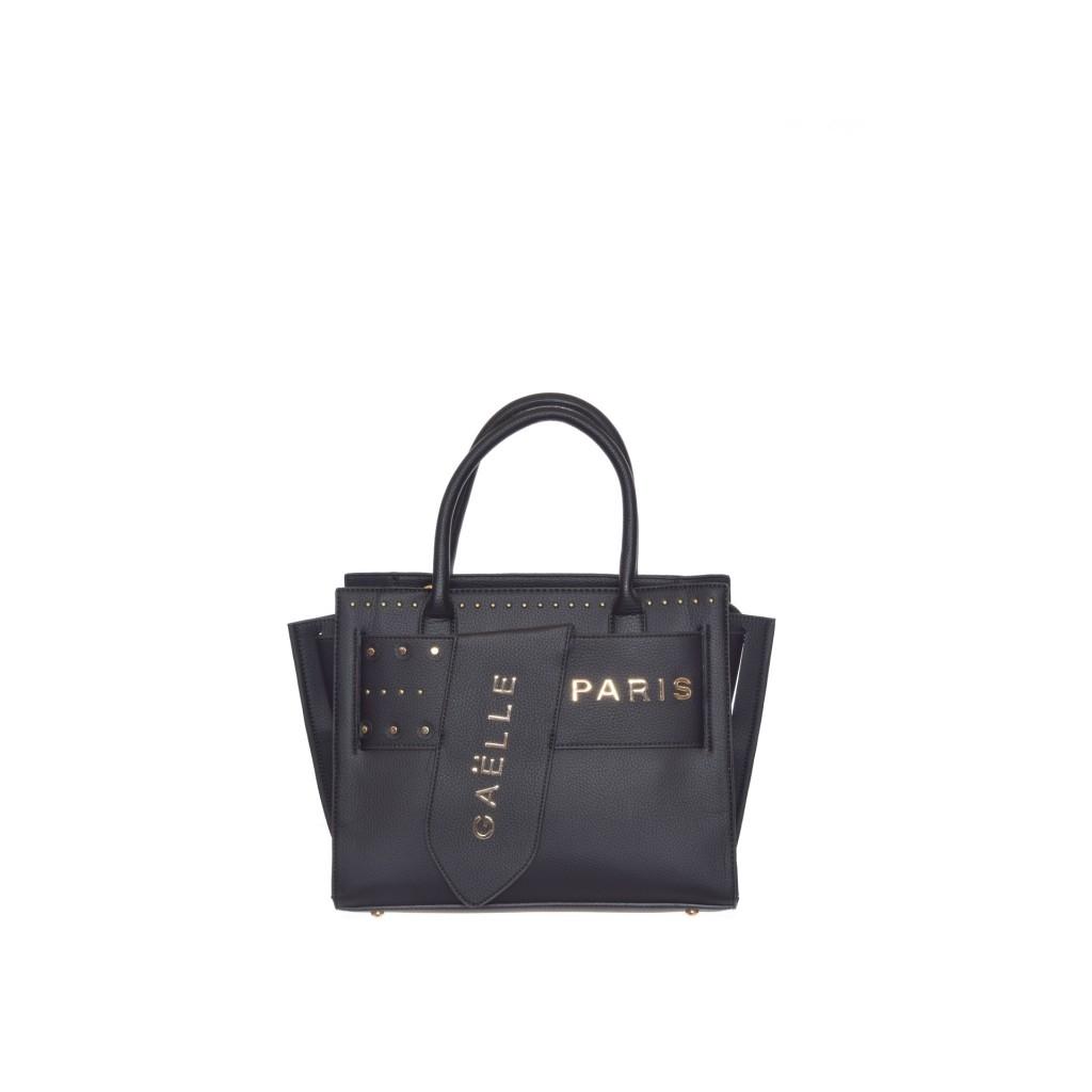 37167a05d6b57c Gaelle paris - Shopping borchie + fibbia NERO - Borse