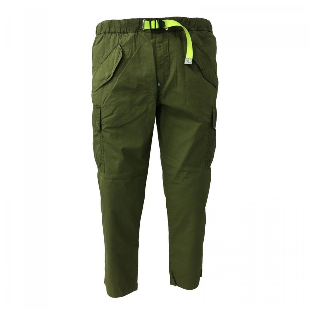 WHITE SAND pantalone uomo con tasconi mod 18SU15 280 100 cotone Verde
