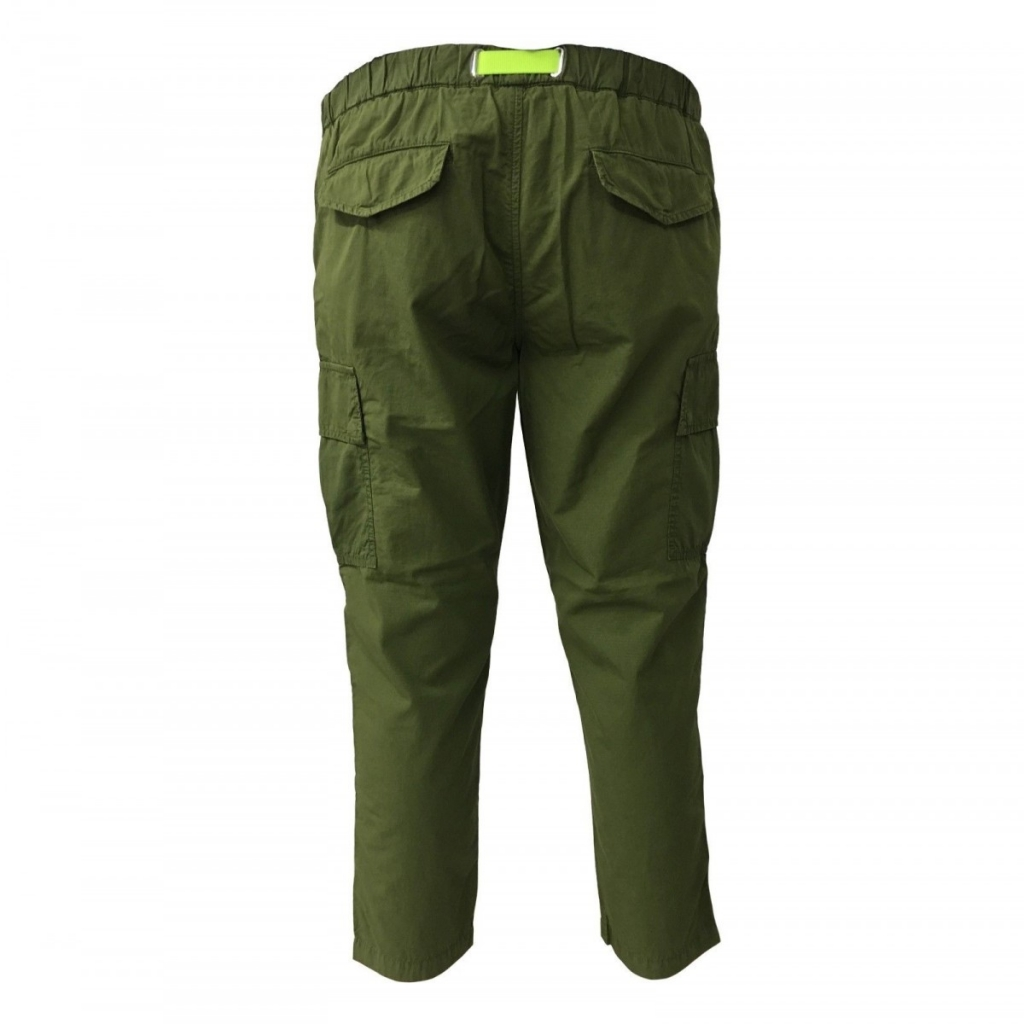 WHITE SAND man trousers with pockets mod 18SU15 280 100 cotton Green