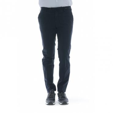 Pantalone uomo - Cpdt01z tt02 super slim gabardina strech 0360 - Blu