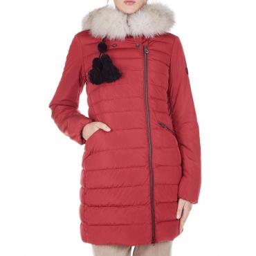 Cappotto imbottito Seriola 02 fur Red