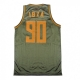 CASACCA 5TATE OF MIND BASKETBALL JERSEY IBZA PARTY CRUSHERZ Olive unico