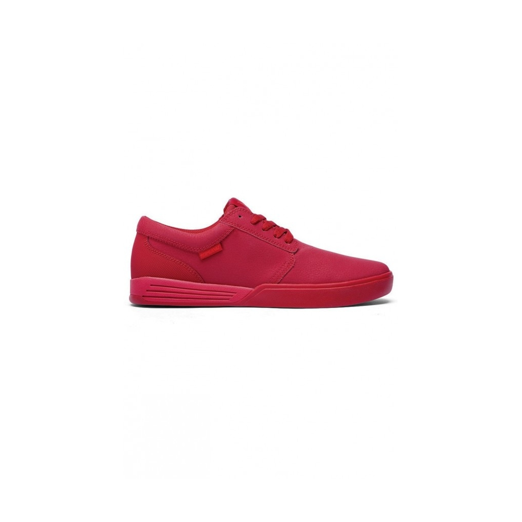 SCARPA BASSA SUPRA SHOES HAMMER Red unico