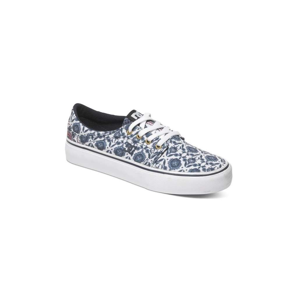 SCARPA BASSA DC WOMAN SHOES TRASE SP Blue/Multi unico