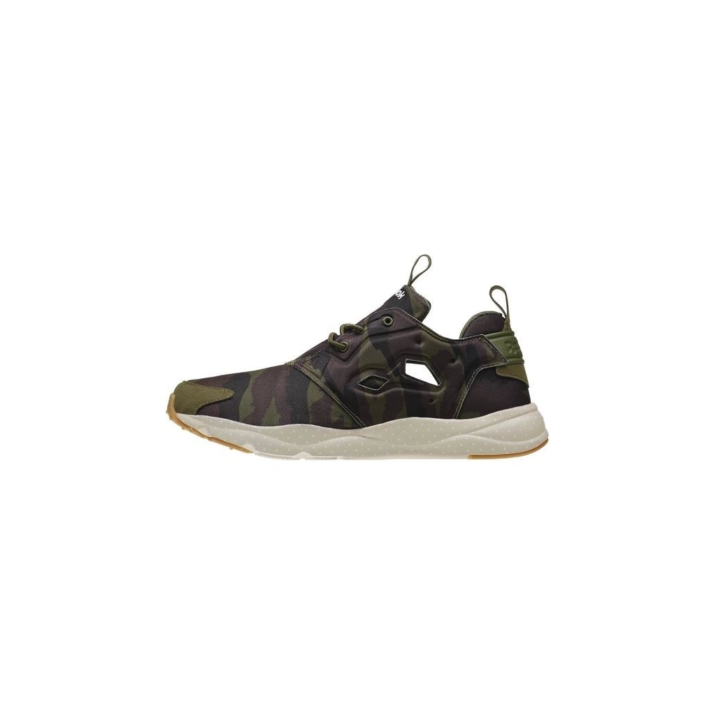 SCARPA BASSA REEBOK SHOES FURY LITE GM CanopyGreen/Coal/Stone unico