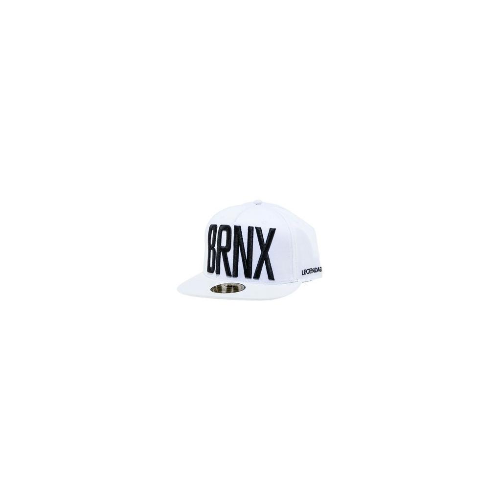 CAPPELLO SNAPBACK LEGENDARY CAP SNAPBACK BRNX NYC White/Black unico