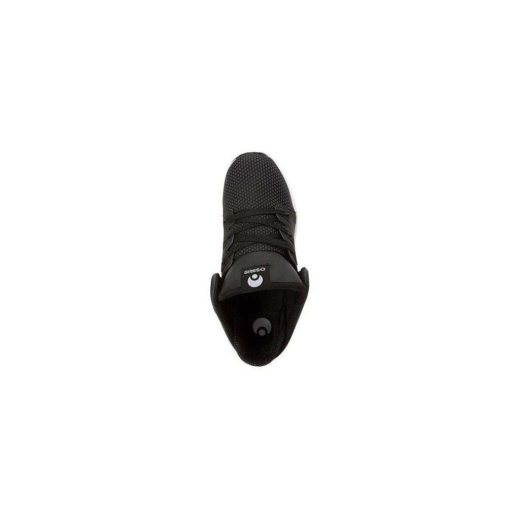 SCARPA BASSA OSIRIS SHOES D3R1 Black/White/Silver unico