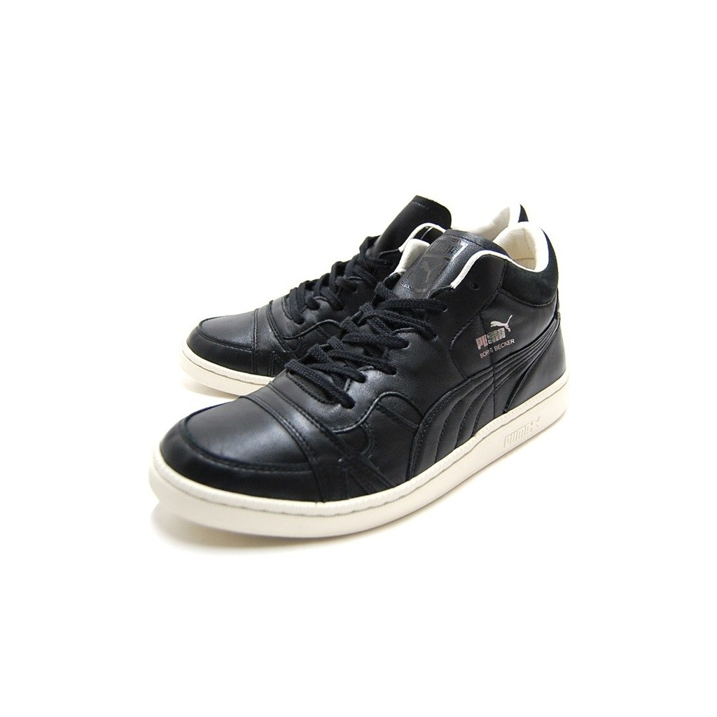 e88ba57dfe86c Puma - SCARPA BASSA PUMA SHOES BECKER LEATHER Black unico - Sneaker ...