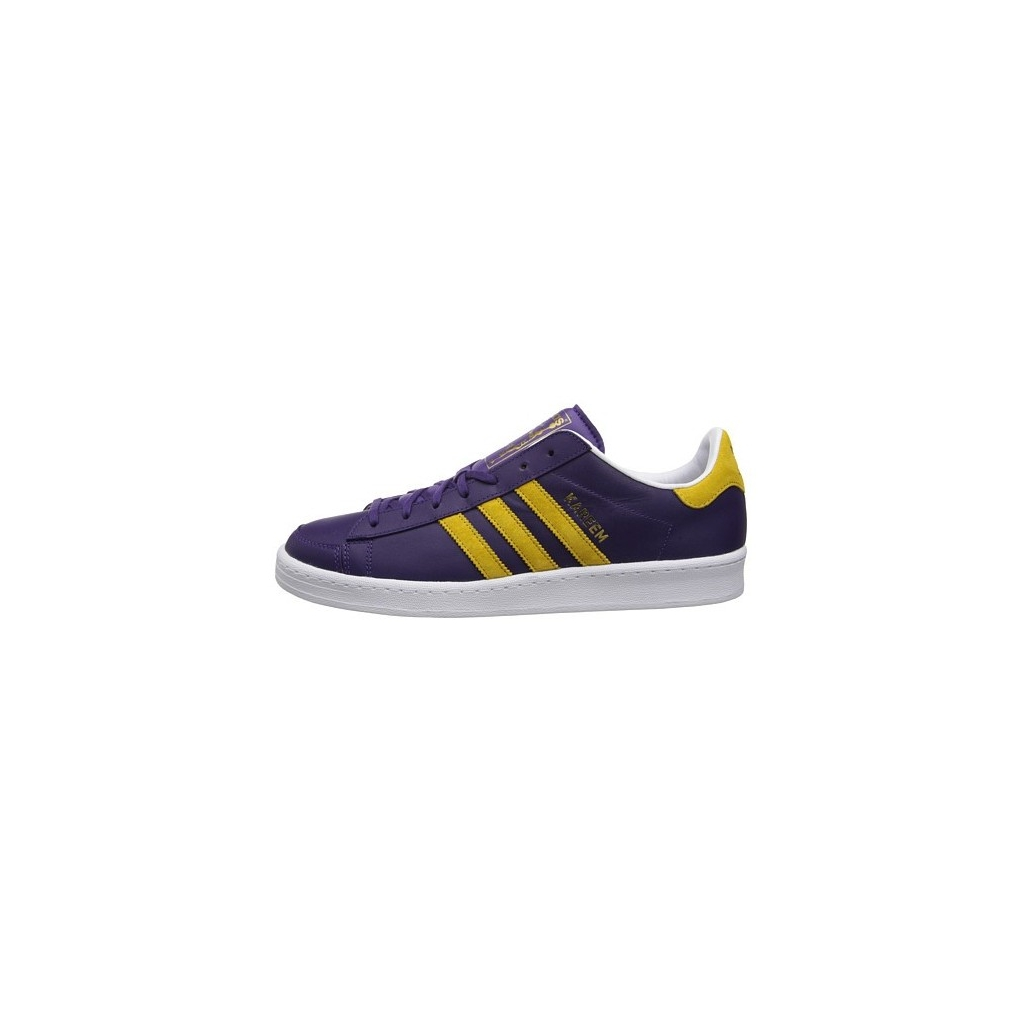 watch 633ec 8d759 LOW SHOE ADIDAS SHOES JABBAR THE ORIGINALS Purple   Gold unique