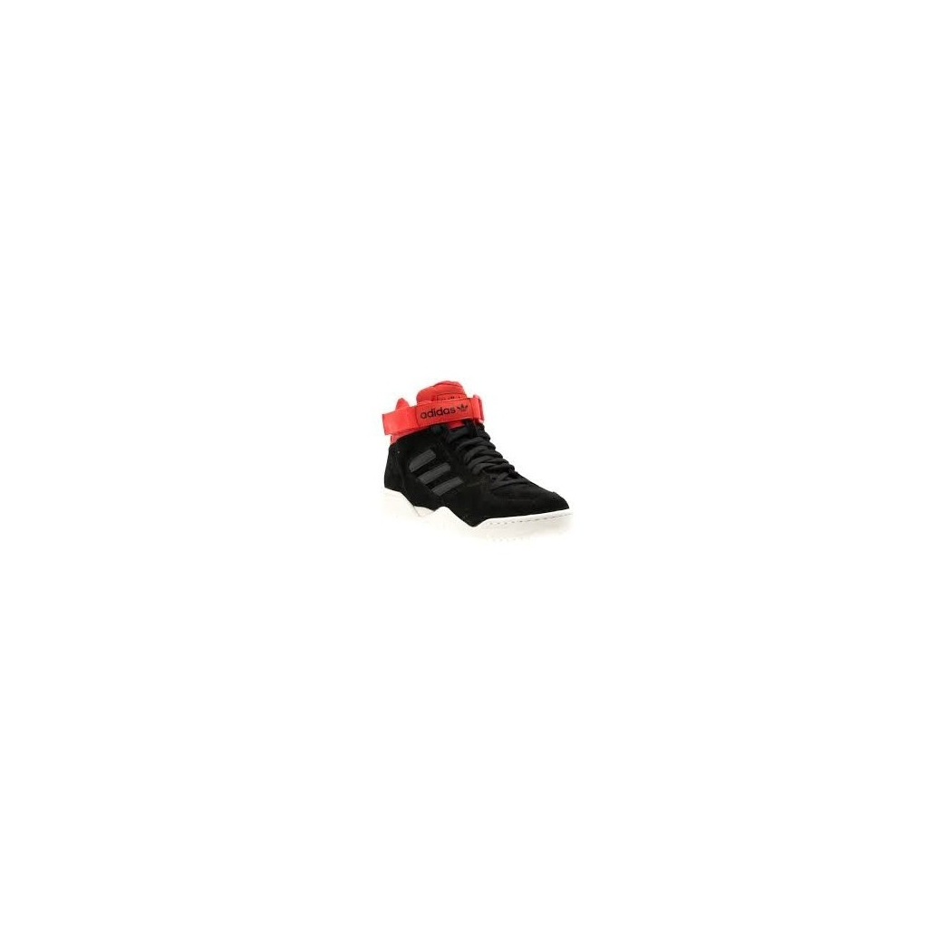 SCARPA BASSA ADIDAS SHOES ENFORCER MID Black/Red unico
