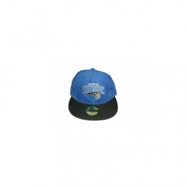 CAPPELLO FITTED NEW ERA CAP FITTED NBA ORLANDO MAGIC VelourRoyal/Black unico
