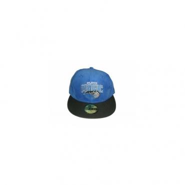 CAPPELLO FITTED NEW ERA CAP FITTED NBA ORLANDO MAGIC VelourRoyal/Black unico