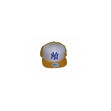 CAPPELLO FITTED NEW ERA CAP FITTED MLB NEW YORK YANKEES UMPIRE Yellow/White/Navy unico