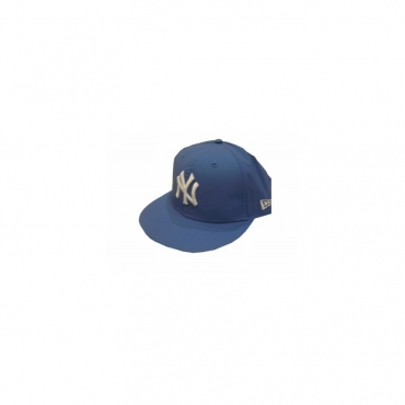 CAPPELLO FITTED NEW ERA CAP MLB NEW YORK YANKEES WATER PROOF Royal/White unico