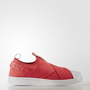 SCARPA BASSA W SUPERSTAR SLIPON ROSSO