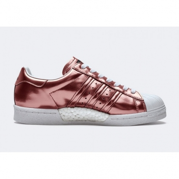 SCARPA BASSA W SUPERSTAR W METALLIC BRONZE
