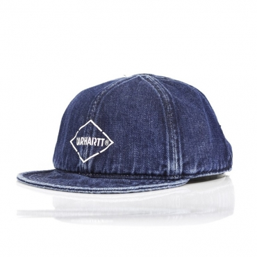 CAPPELLO DESTRUTTURATO BOOTH CAP DENIM