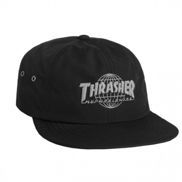 CAPPELLO DESTRUTTURATO THRASHER TDS 6 PANEL NERO