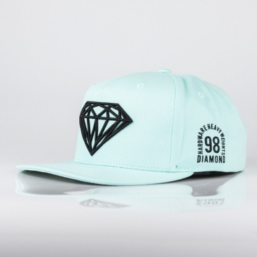 CAPPELLO SNAPBACK BRILLIANT SNAP ACQUA