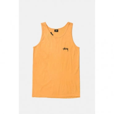 CANOTTA 8 BALL PIG DYED TANK GIALLO