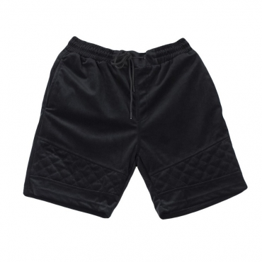 PANTALONE CORTO NEW AGE VELOUR SHORTS NERO