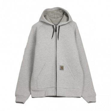 GIUBBOTTO CAR-LUX HOODED JACKET ASH HEATHER/GREY HEATHER