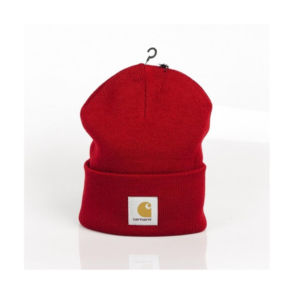 BERRETTO LANA ACRYLIC WATCH HAT BLAST RED ... 8f2c5f453ed3