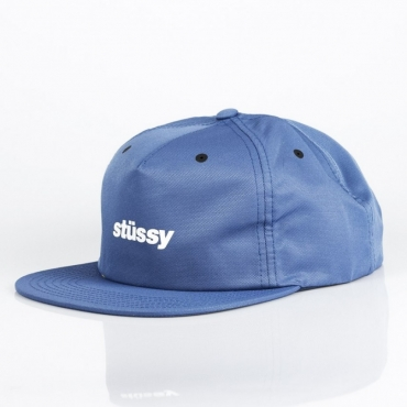 CAPPELLO SNAPBACK POLY DOBY CAP BLUE