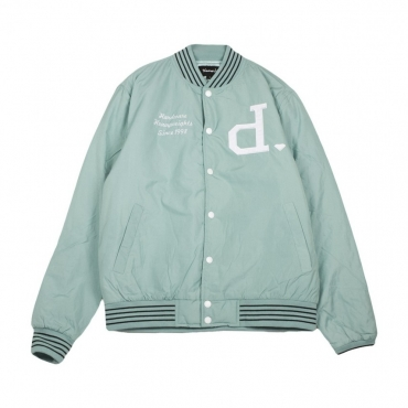 VARSITY UN POLO VARSITY JACKET TEAL/WHITE
