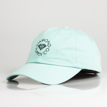 CAPPELLO VISIERA CURVA CIRCLE LOGO SPORTS CAP DIAMOND BLUE