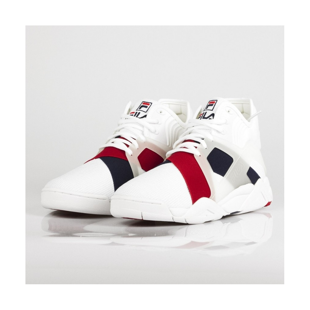 SCARPA ALTA THE CAGE 17 LOGO WHITE/FILA NAVY/FILA RED