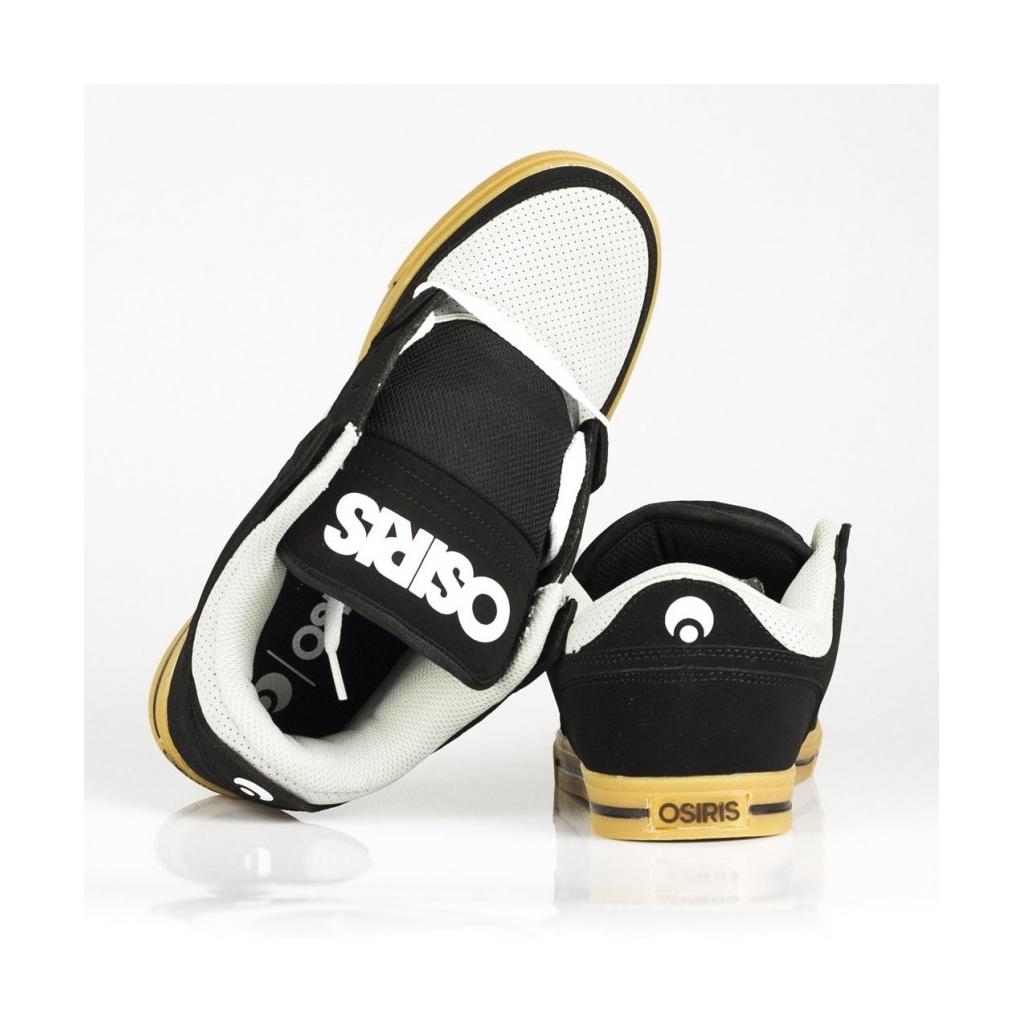 SCARPE SKATE PROTOCOL BLACK/LIGHT GREY/GUM