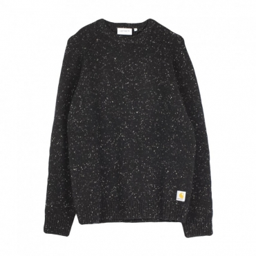 MAGLIONE ANGLISTIC SWEATER BLACK HEATHER