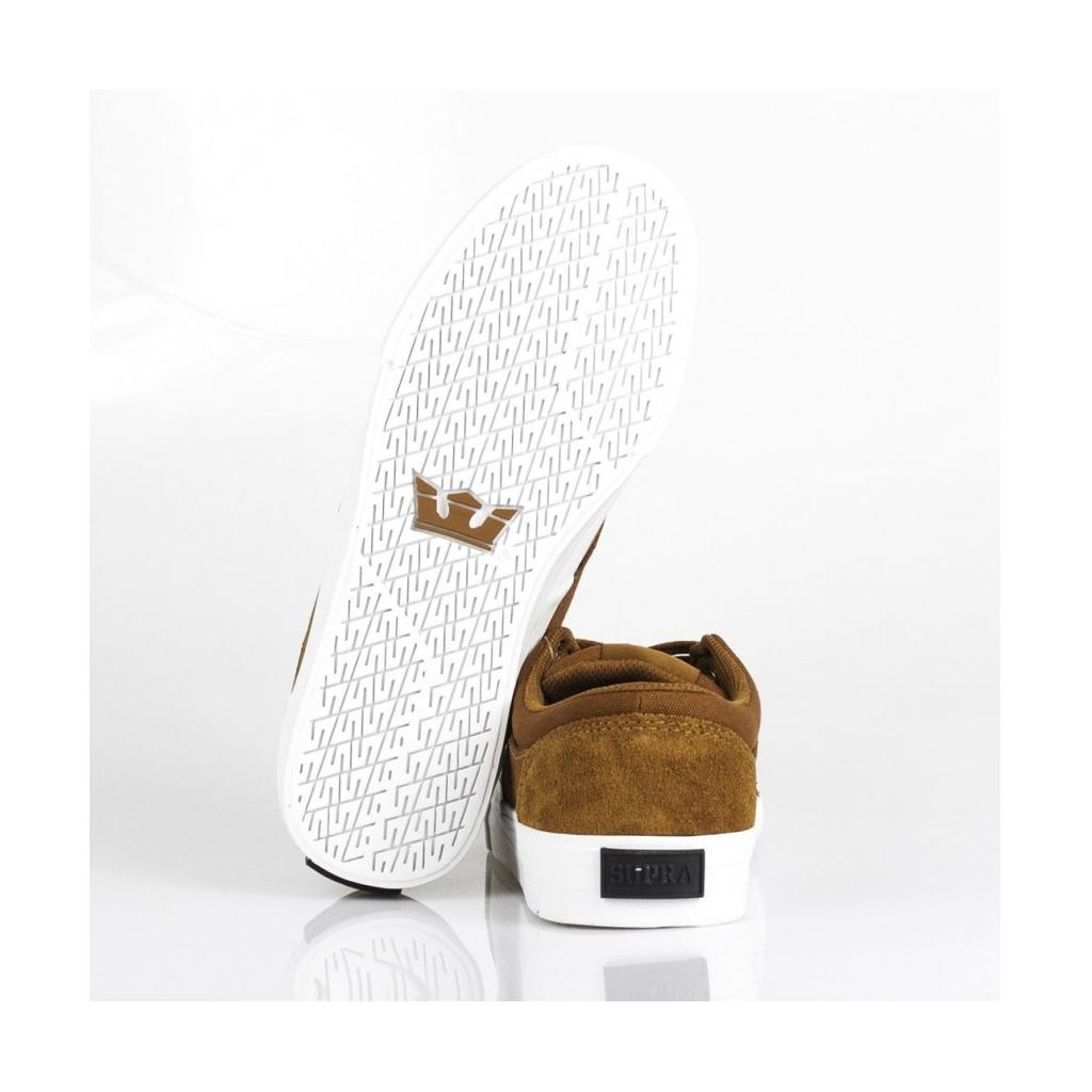 SCARPA BASSA CHINO BROWN/WHITE/WHITE