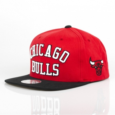 CAPPELLO SNAPBACK WORDMARK JERSEY HOOK SNAPBACK CHIBUL RED/BLACK/WHITE