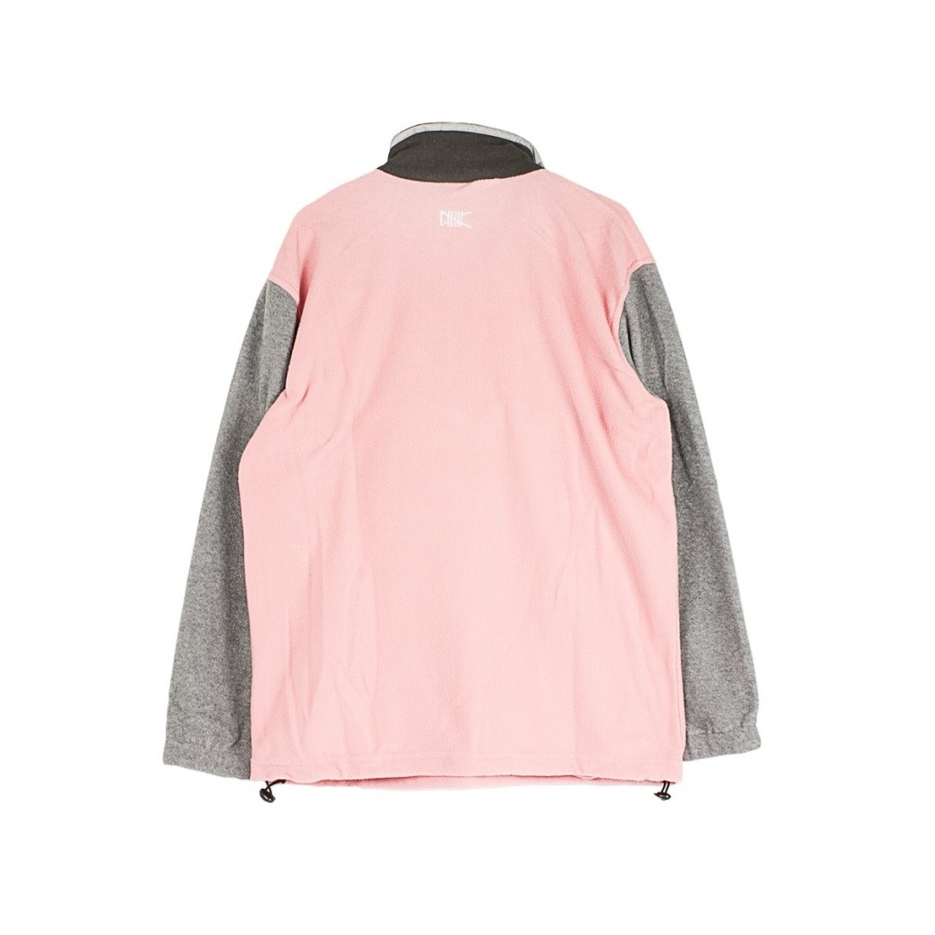 TRACKTOP PULLOVER TRACK TOP GREY/PINK