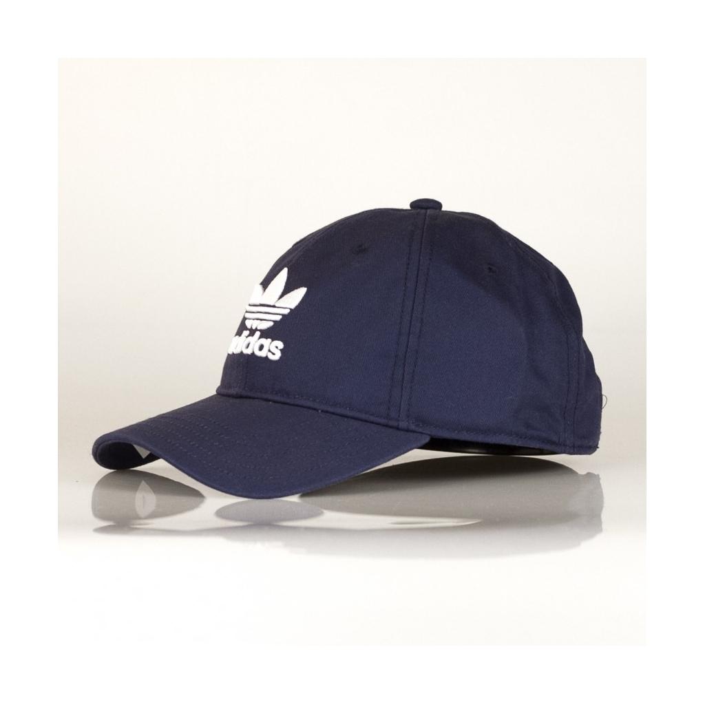 9fb8877f0075fa VISITOR HAT CURVA TREFOIL CAP NAVY / WHITE | Bowdoo.com