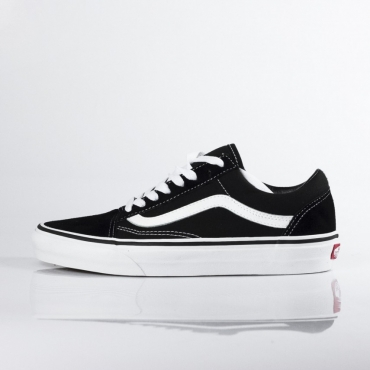 SCARPA BASSA OLD SKOOL BLACK/WHITE