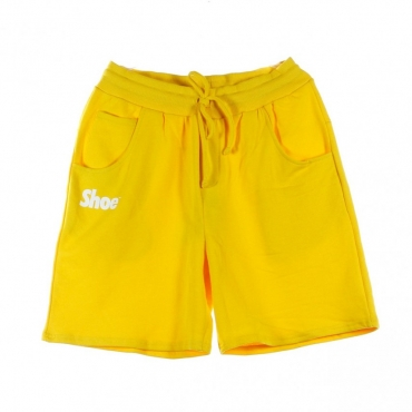 PANTALONE CORTO BASIC YELLOW/WHITE