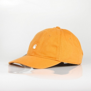 CAPPELLO VISIERA CURVA MADISON LOGO CAP JAFFA ORANGE