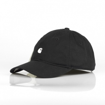 CAPPELLO VISIERA CURVA MADISON LOGO CAP BLACK/WHITE