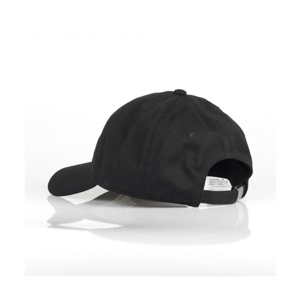 CAPPELLO VISIERA CURVA MADISON LOGO CAP BLACK/WHITE