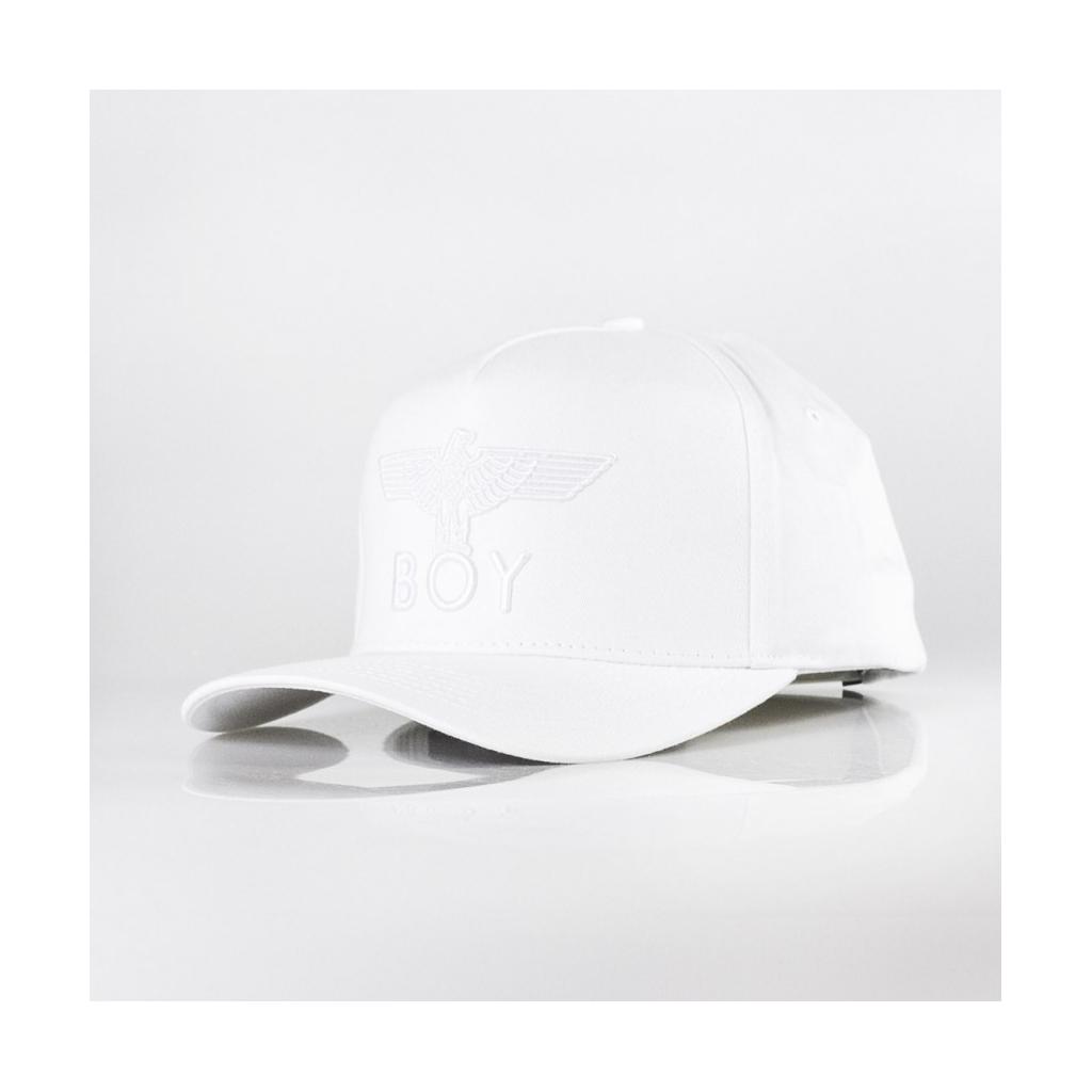CAPPELLO VISIERA CURVA EAGLE CAP WHITE/WHITE