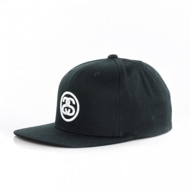 CAPPELLO SNAPBACK SS-LINK SP18 CAP BLACK
