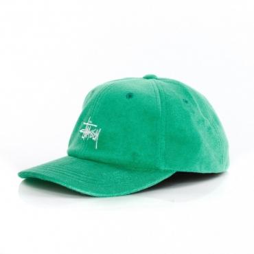 CAPPELLO VISIERA CURVA STOCK TERRY CLOTH LOW PRO CAP GREEN